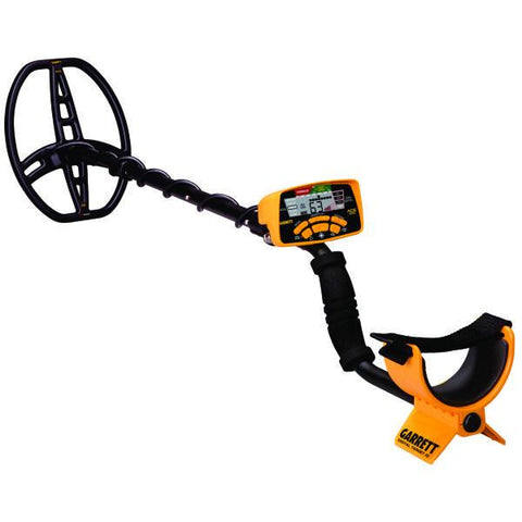 angle view of Garrett ACE4001 Metal Detector