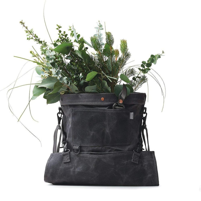 BAREBONES | Harvesting & Gathering Bag - Waxed Canvas