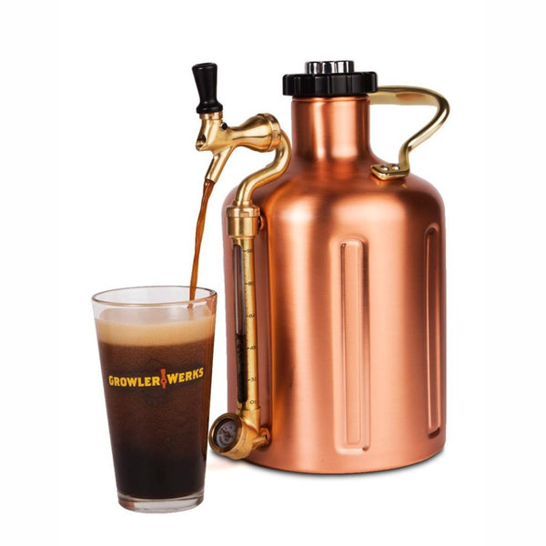 GROWLERWERKS | uKeg 128oz Beer Keg, Copper