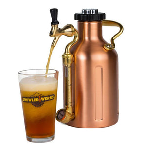 GROWLERWERKS | uKeg 64oz Beer Keg, Copper