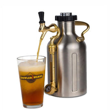Load image into Gallery viewer, GROWLERWERKS | uKeg 64oz Beer Keg, Stainless Steel