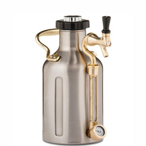GROWLERWERKS | uKeg 64oz Beer Keg, Stainless Steel