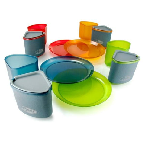 GSI | Infinity 4 Person Compact Table Set - Multicolour