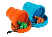 Load image into Gallery viewer, INSIDE OUTSIDE | Backpack Bluffer's Dice - Orange & Blue