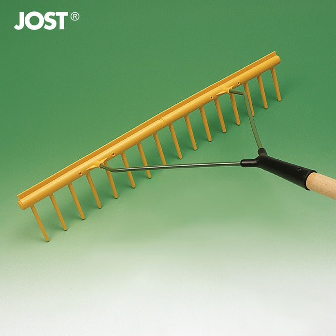 FRANZ JOST  Arbor Rake with leveler 16 tines - 1500mm handle GH16E