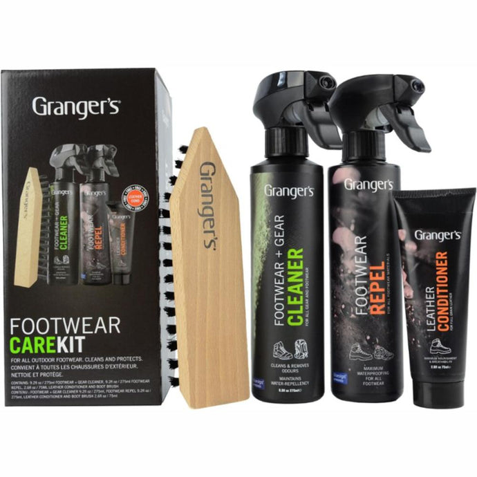 GRANGERS | Outdoor Shoe / Footwear Cleaning Care Kit **Limited Stock**