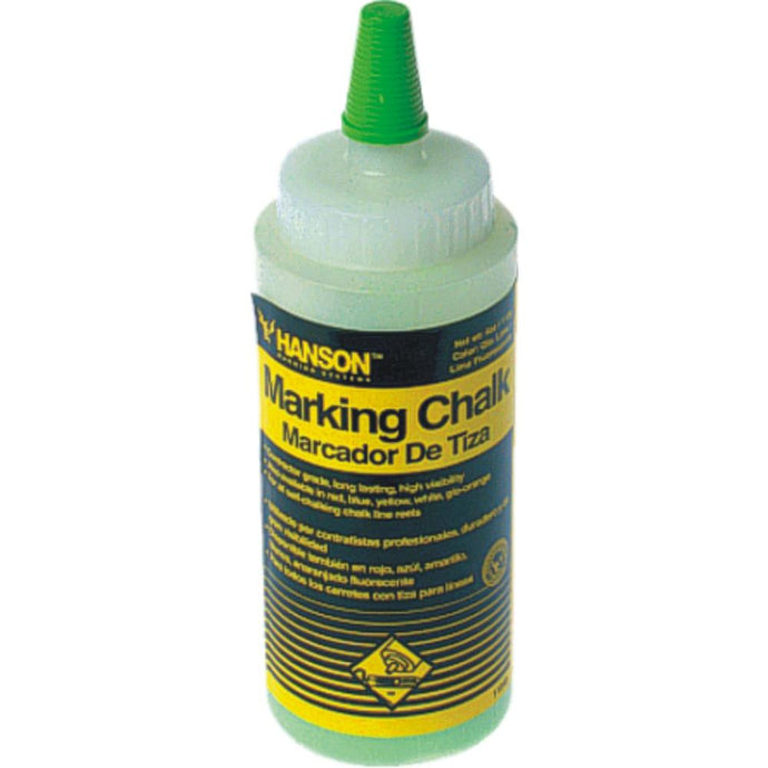 HANSON | Line Marking Builders Chalk - 8oz Bottles