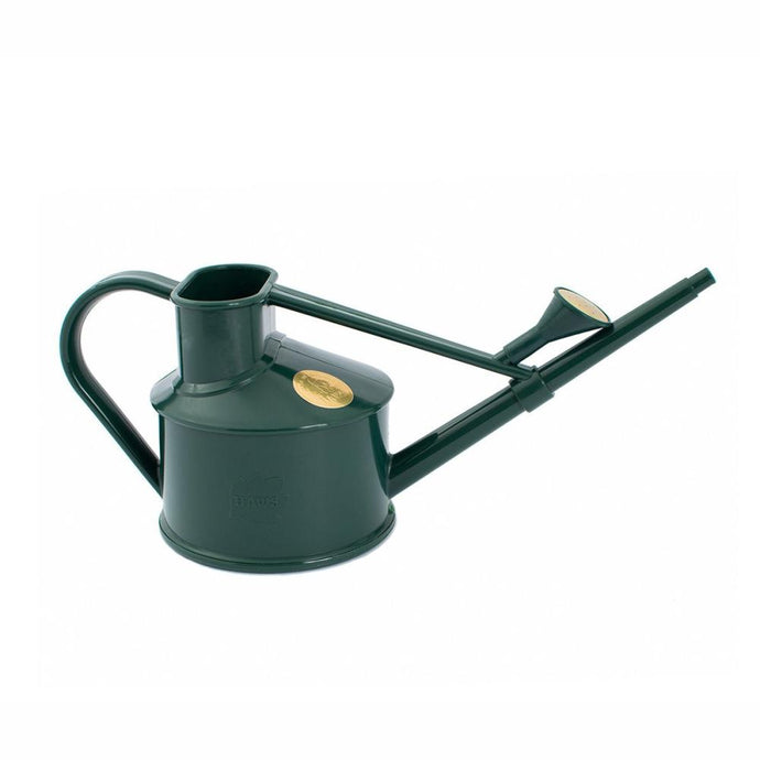 HAWS 'The Langley Sprinkler Green' Plastic Watering Can - One Pint