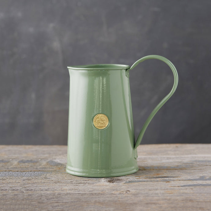 HAWS Vintage Style Three Pint Metal Jug - Sage