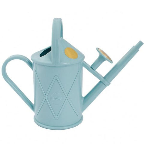 HAWS | 1lt Heritage Plastic Watering Can - Duck Egg Blue