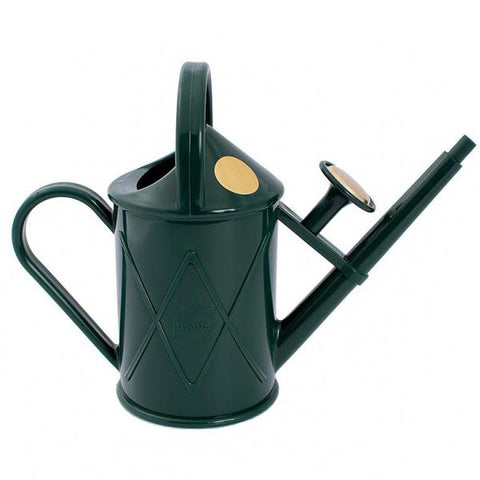 HAWS | 1lt Heritage Plastic Watering Can - British Racing Green