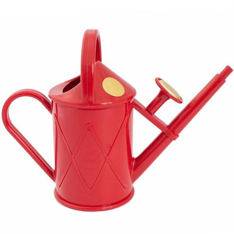 HAWS | 1lt Heritage Plastic Watering Can - Red
