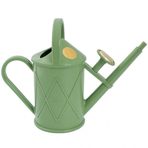HAWS | 1 Litre Heritage Plastic Plant Watering Can - Sage Green