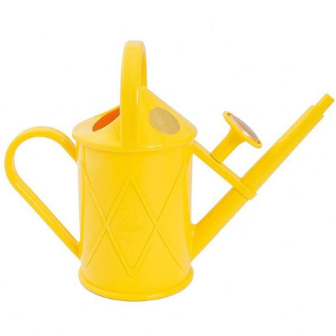 HAWS | 1lt Heritage Plastic Watering Can - Sunflower Yellow