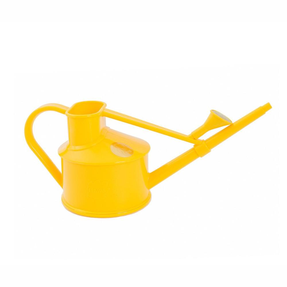 HAWS 'The Langley Sprinkler Buttercup Yellow' Plastic Watering Can - One Pint