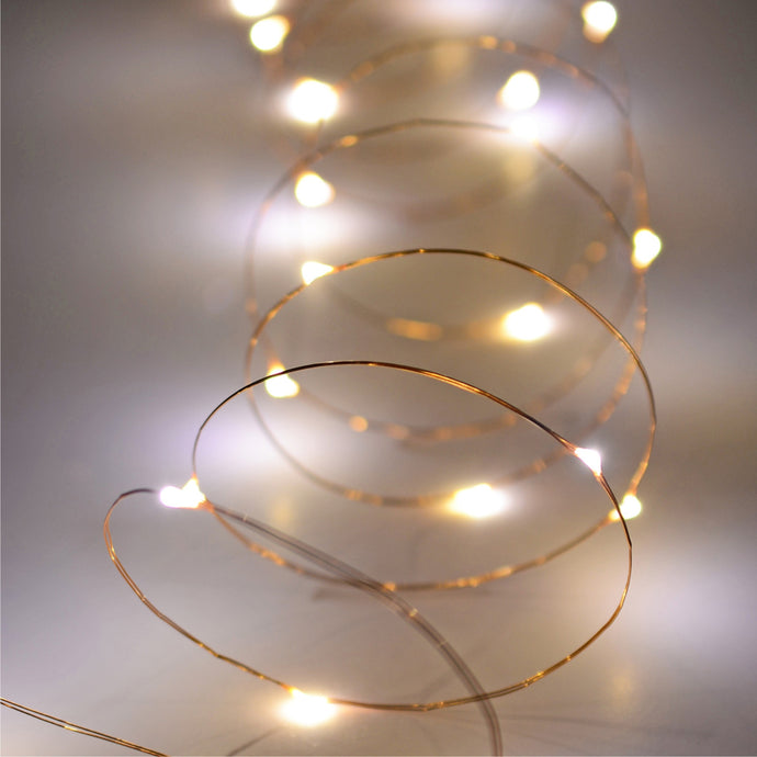 IVORY HOUSE  |  LED Garland mini bulb 20 copper