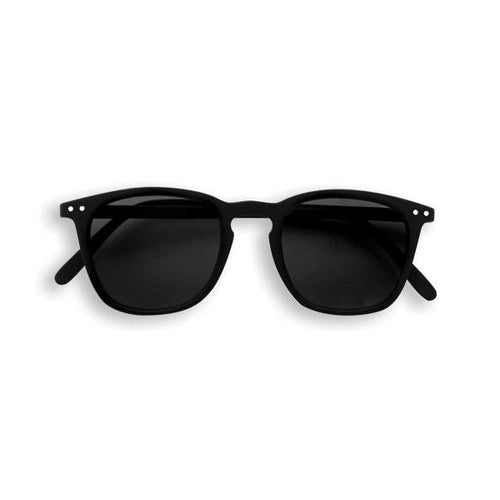 IZIPIZI PARIS | Sun Junior Kids STYLE #E Sunglasses - Black (3-10 YEARS)