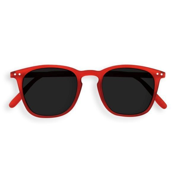 IZIPIZI PARIS | Sun Junior Kids STYLE #E Sunglasses - Red (3-10 YEARS)