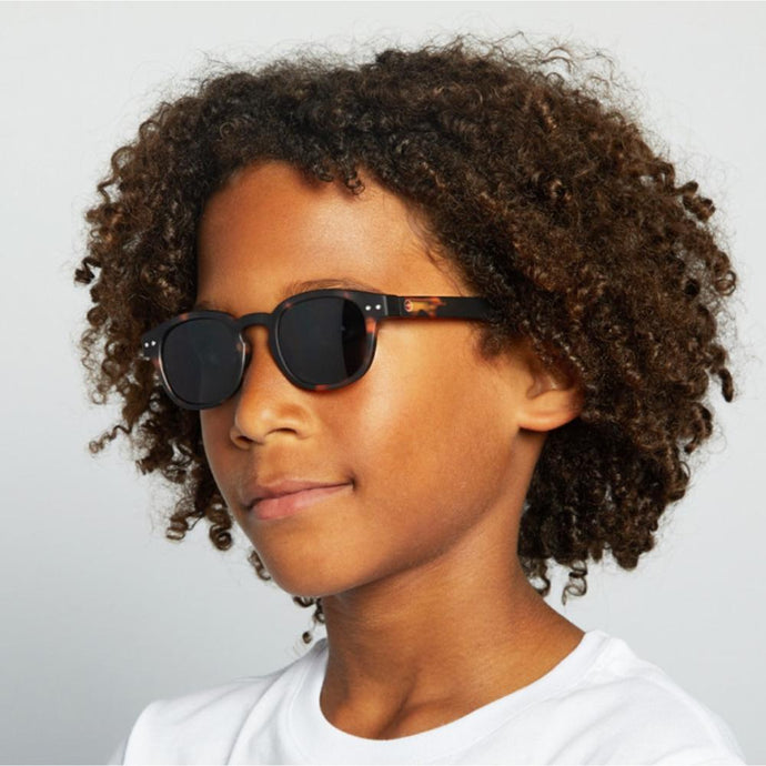 IZIPIZI PARIS | Sun Junior Kids STYLE #C Sunglasses - Tortoise (3-10 YEARS)