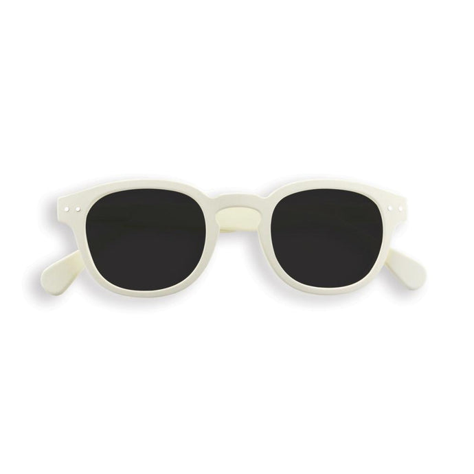IZIPIZI PARIS | Sun Junior Kids STYLE #C Sunglasses - White Clay (3-10 YEARS) **LIMITED EDITION**