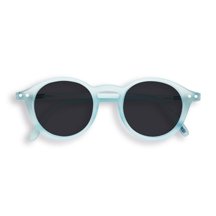 IZIPIZI PARIS | Sun Junior - STYLE #D Sunglasses - Light Azure (3-10 YEARS) *FLASH LIGHTS LIMITED EDITION*