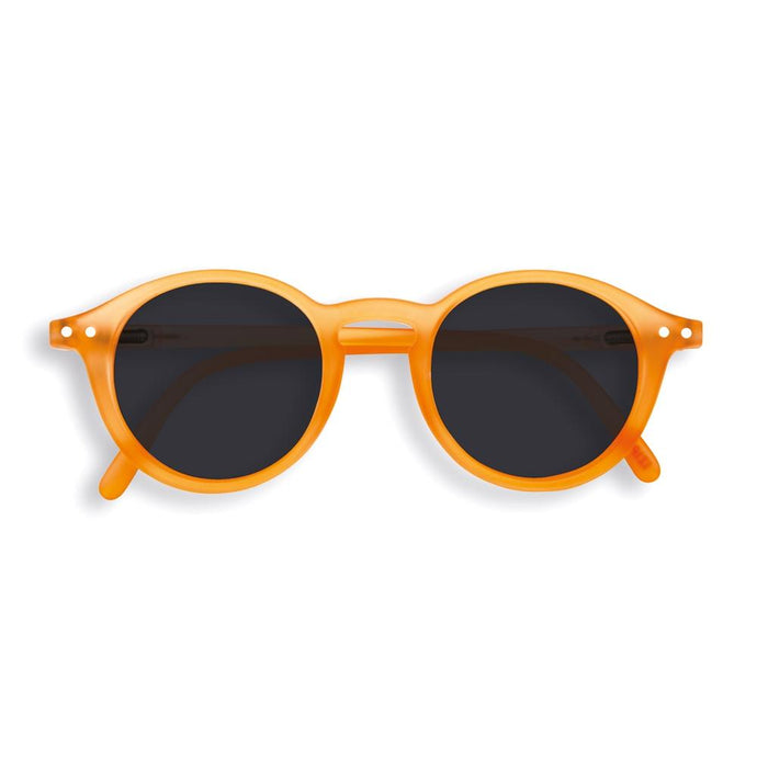 IZIPIZI PARIS | Sun Junior - STYLE #D Sunglasses - Orange Flash (3-10 YEARS) *FLASH LIGHTS LIMITED EDITION*