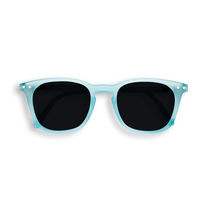 IZIPIZI PARIS | Sun Junior - STYLE #E Sunglasses - Light Azure (3-10 YEARS) *FLASH LIGHTS LIMITED EDITION*