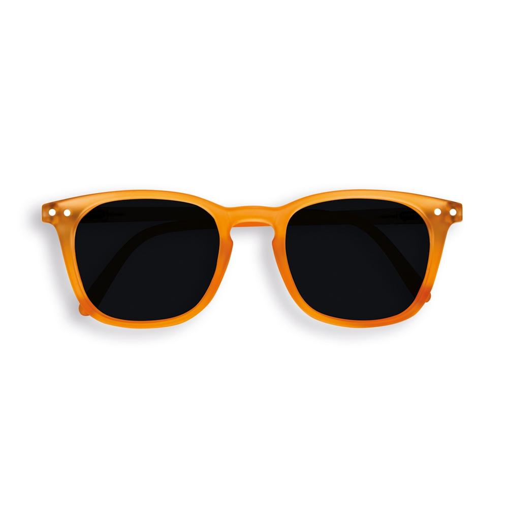 IZIPIZI PARIS | Sun Junior - STYLE #E Sunglasses - Orange Flash (3-10 YEARS) *FLASH LIGHTS LIMITED EDITION*
