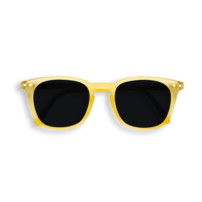 IZIPIZI PARIS | Sun Junior - STYLE #E Sunglasses - Yellow Chrome (3-10 YEARS) *FLASH LIGHTS LIMITED EDITION*