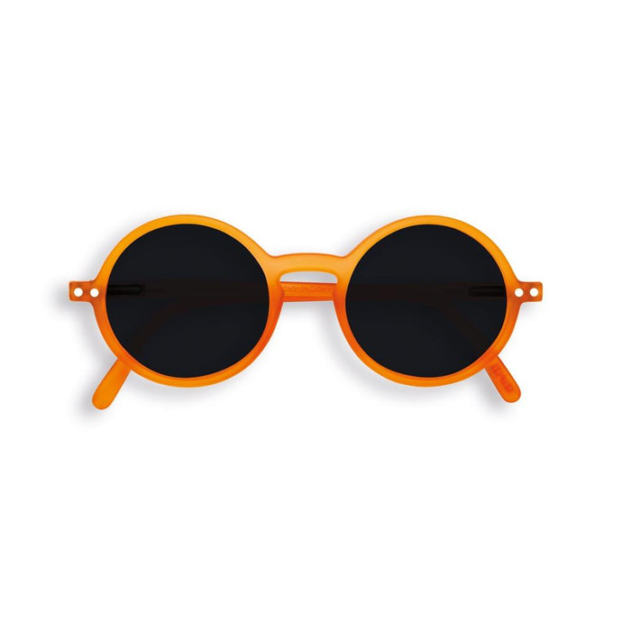 IZIPIZI PARIS | Sun Junior - STYLE #G Sunglasses - Orange Flash (3-10 YEARS) *FLASH LIGHTS LIMITED EDITION*
