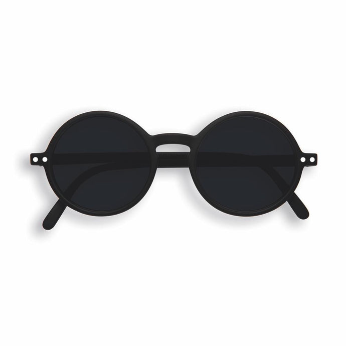 IZIPIZI PARIS | Sun Junior - STYLE #G Sunglasses - Black (3-10 YEARS)