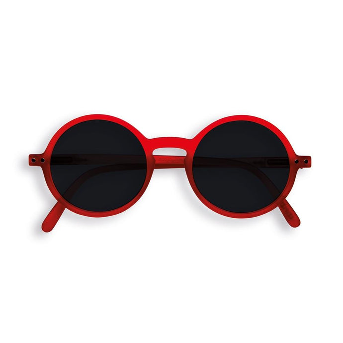 IZIPIZI PARIS | Sun Junior - STYLE #G Sunglasses - Red (3-10 YEARS)