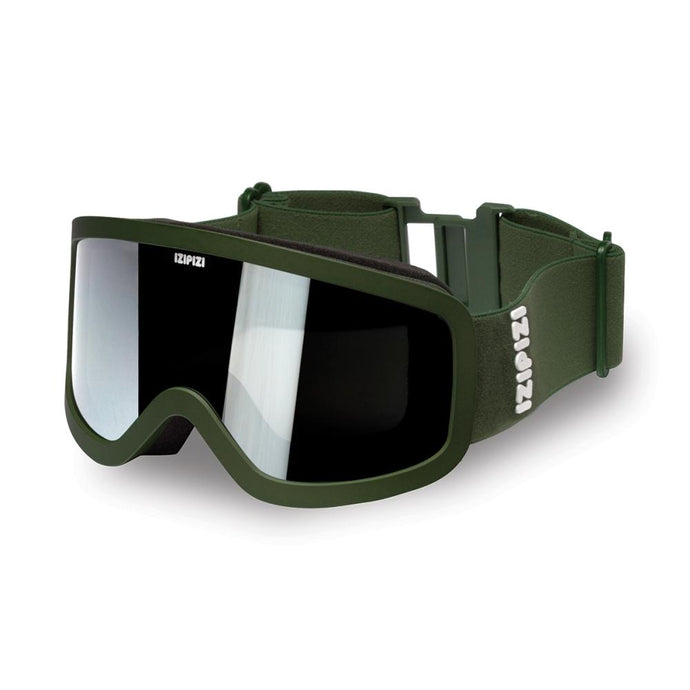 IZIPIZI PARIS | Adult Snow Goggles - LARGE - Khaki Green