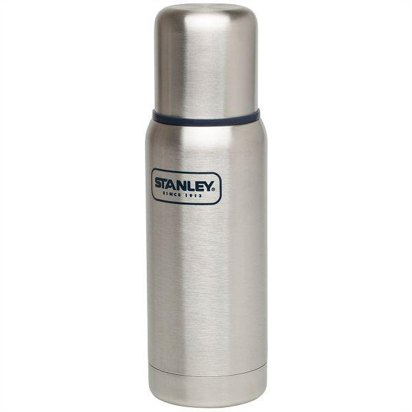 STANLEY | ADVENTURE 750ml Insulated Vacuum Bottle - Brushed Stainless Steel