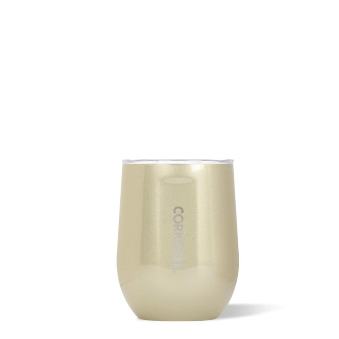 CORKCICLE | Stainless Steel Insulated Stemless 12oz - Glampagne / Champagne