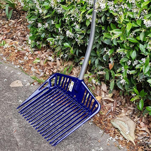 Franz Jost | Stable Rake / Manure Scoop - Aluminium Handle