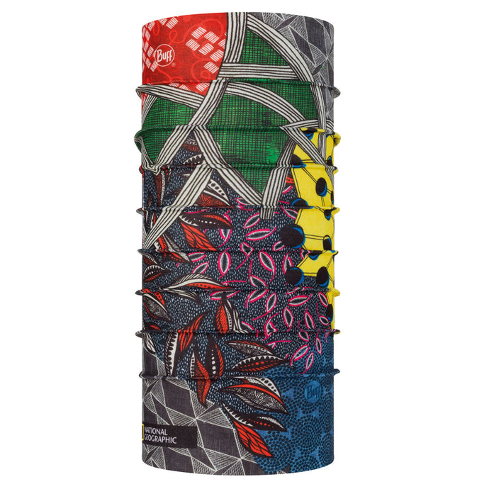 BUFF® | Coolnet UV+ Multifunction Tubular Neckwear National Geographic - Kitenge Multi