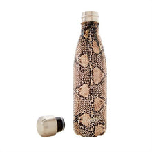 Load image into Gallery viewer, S'Well | Insulated Stainless Steel Bottle EXOTICS Collection 500ml - Sand Python