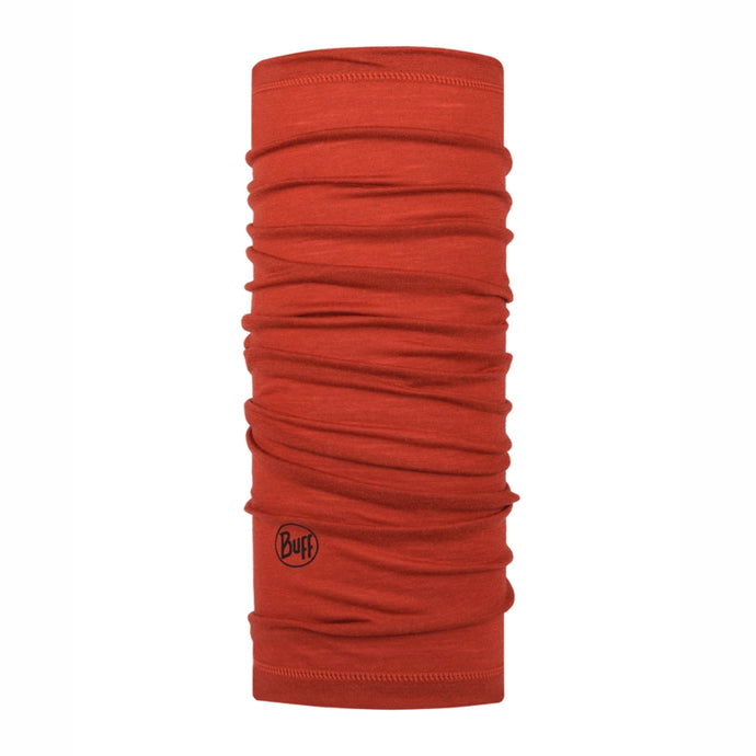 BUFF | LW Merino Wool  - Solid Rusty
