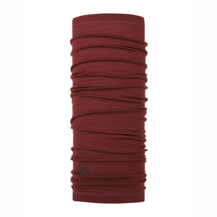 BUFF | LW Merino Wool  - Solid Wine