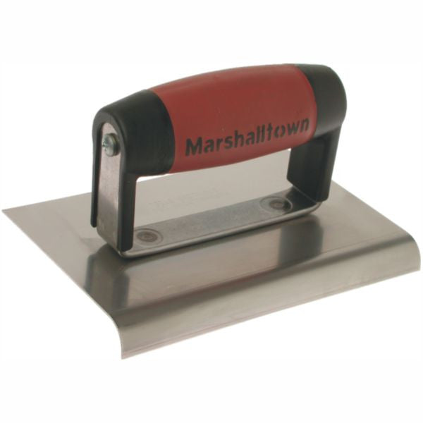 MARSHALLTOWN | Edger Straight Ends Stainless Steel - DURASOFT Handle