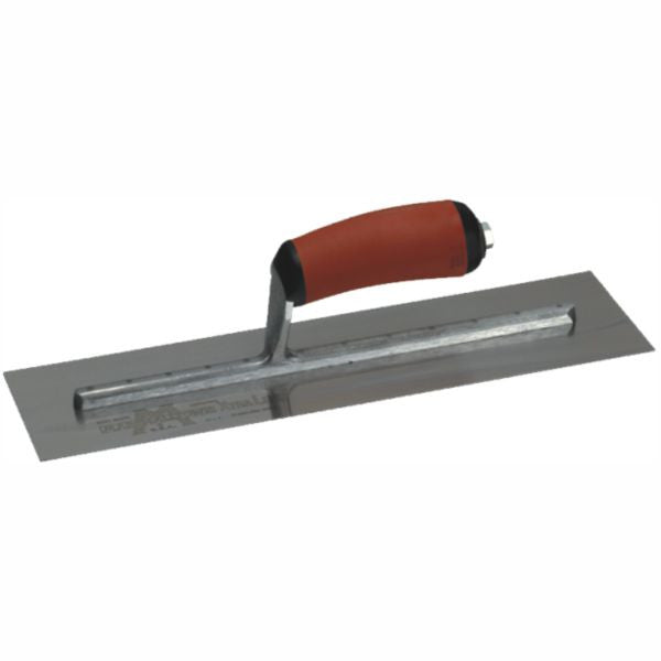 MARSHALLTOWN | Finishing Trowel Bright Stainless Steel - DURASOFT Handle