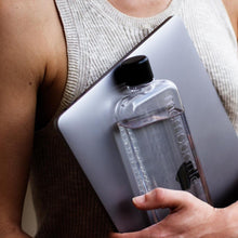 Load image into Gallery viewer, MEMOBOTTLE | Slim Re-usable Flat Water Bottle