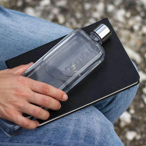 MEMOBOTTLE | Slim Re-usable Flat Water Bottle