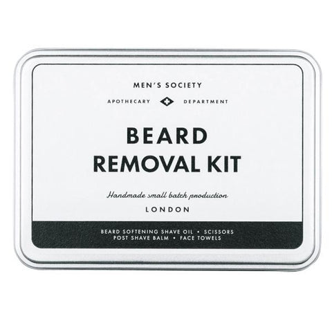 MEN'S SOCIETY | Beard Removal Kit