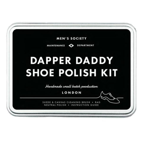 MEN'S SOCIETY | Dapper Daddy Shoe Polish Kit