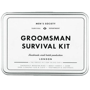 MEN'S SOCIETY | Groomsman Survival Kit