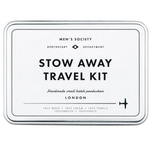 Load image into Gallery viewer, MEN'S SOCIETY | Stow Away Travel Kit