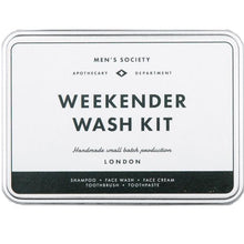 Load image into Gallery viewer, MEN'S SOCIETY | Weekender Wash Kit