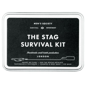 MEN'S SOCIETY | Stag Survival Kit